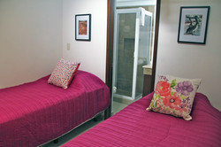 Fourth bedroom with 2 twin beds