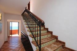 Stairs to third level.