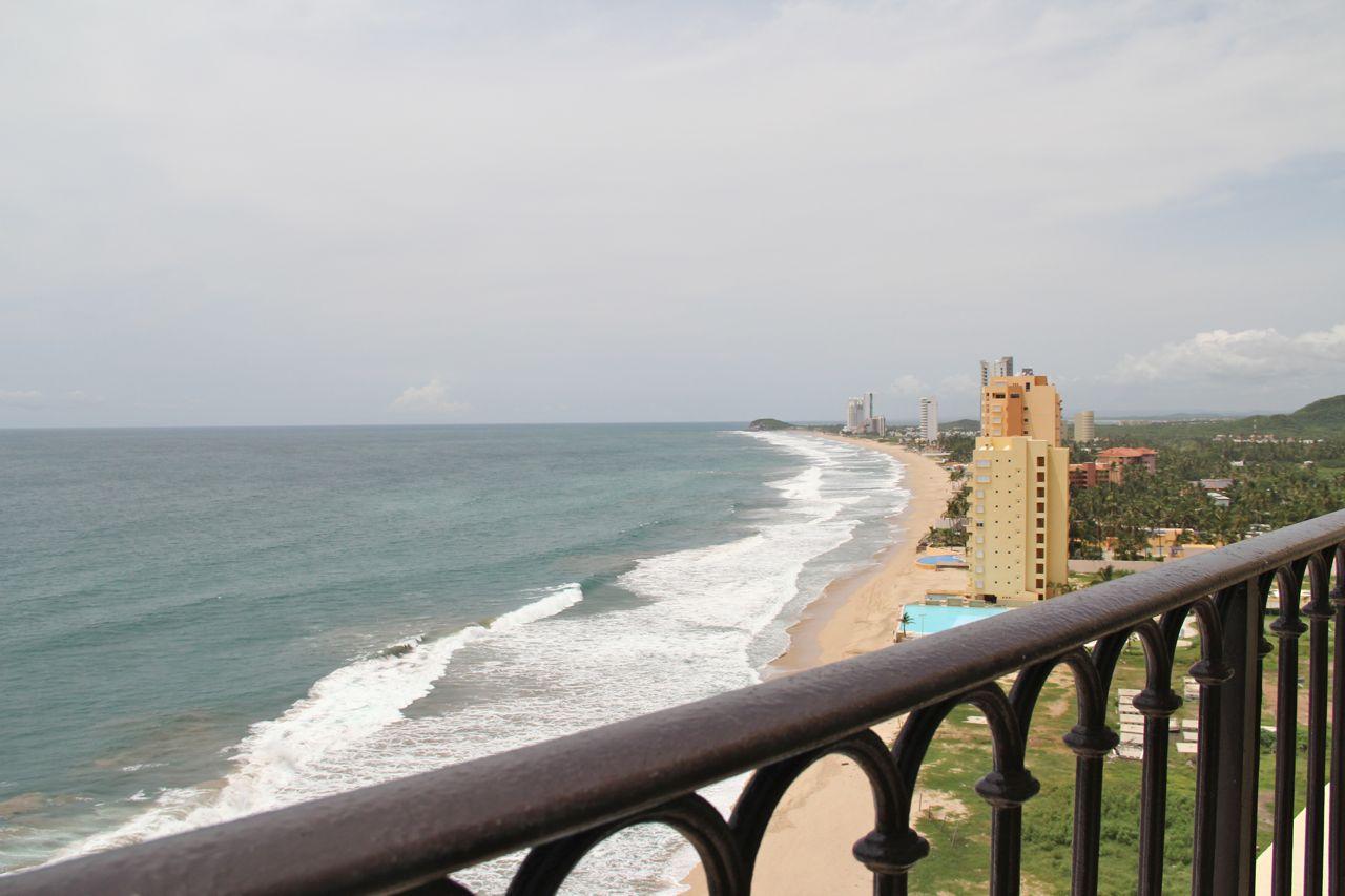 Vista desde el balcón privado