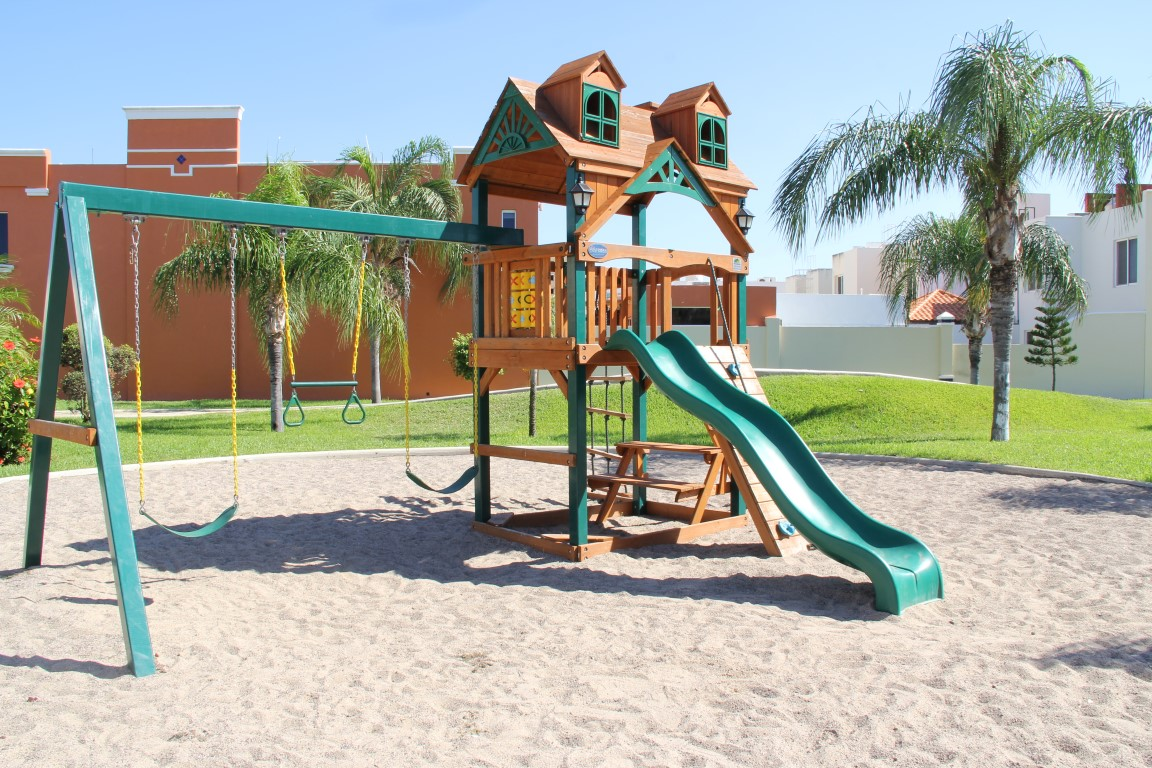 Childrens play area.