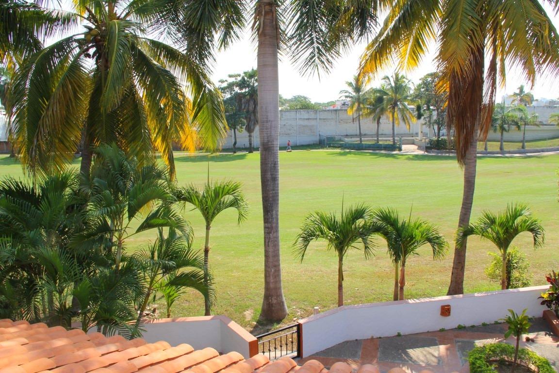 Golf course views.