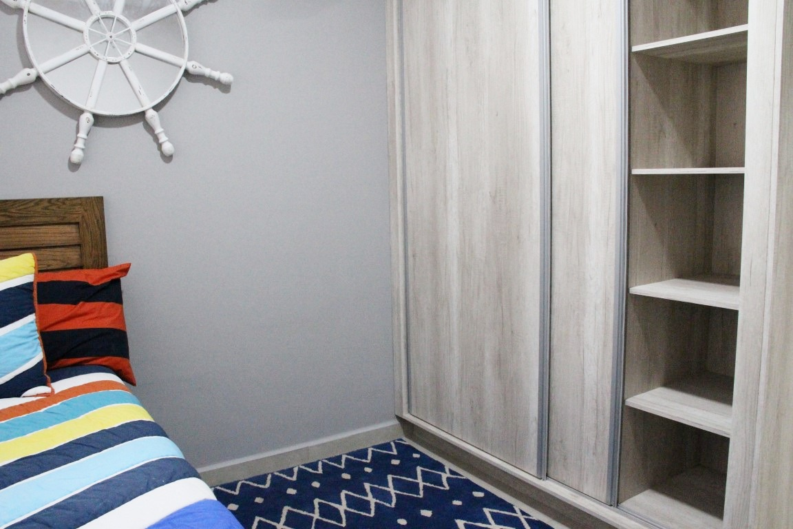 Closet in second bedroom.
