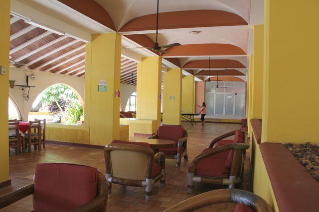 Islas del Sol lobby.