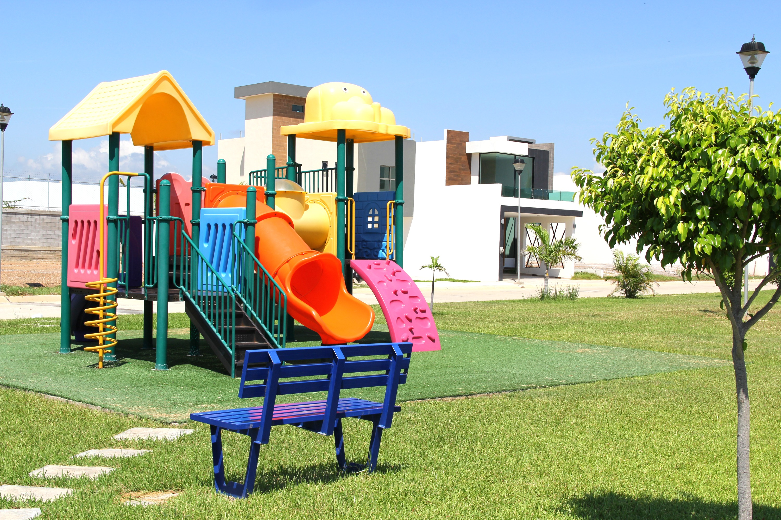 Open play area for kids.