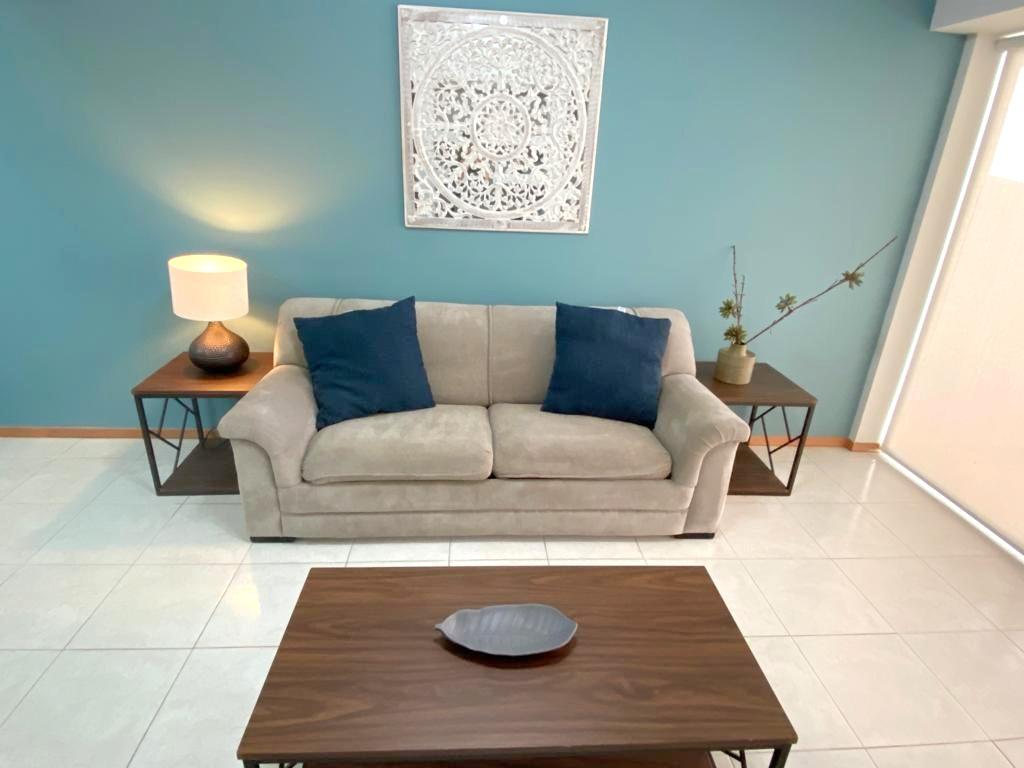 Modern furniture.