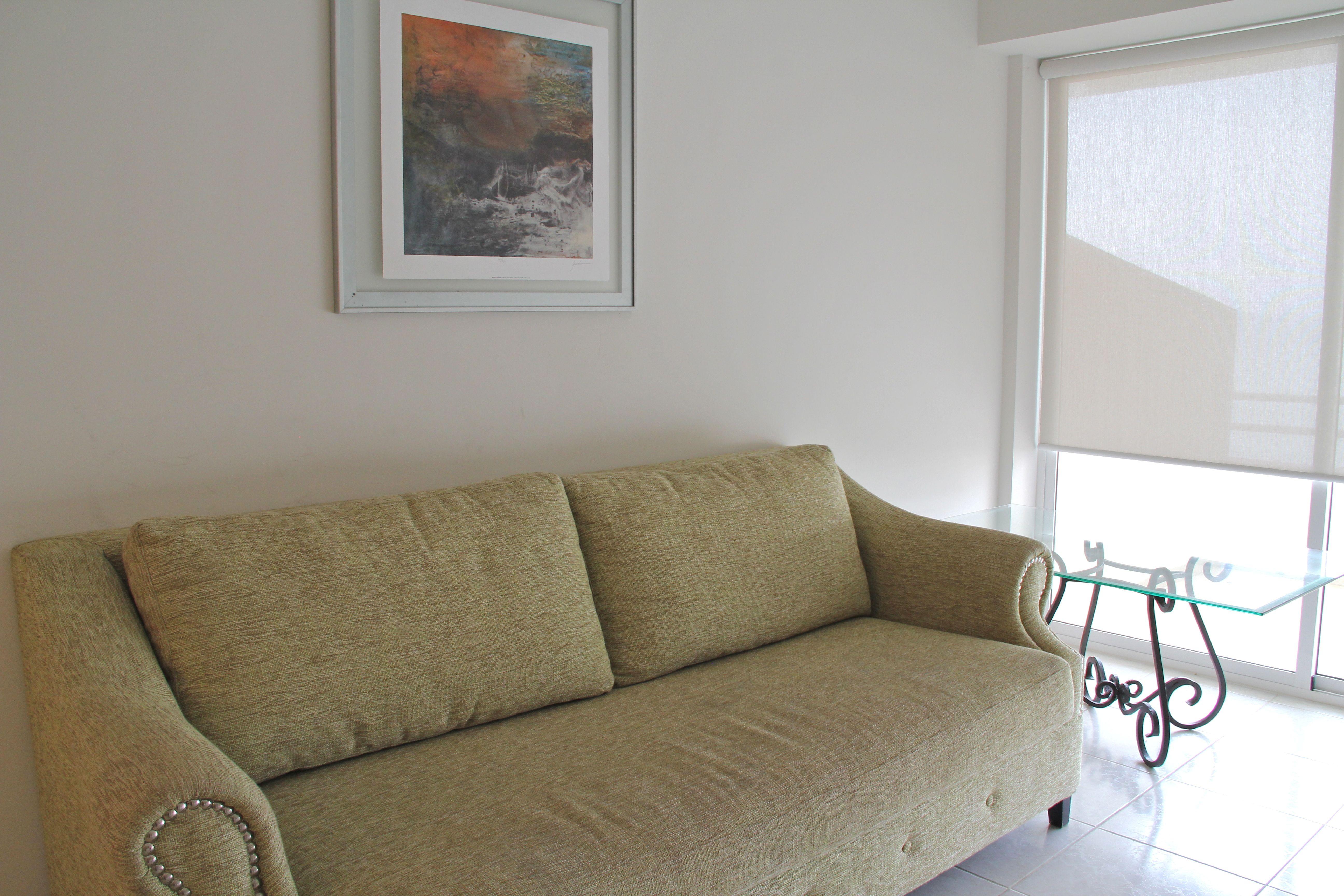 Muebles cómodos en sala