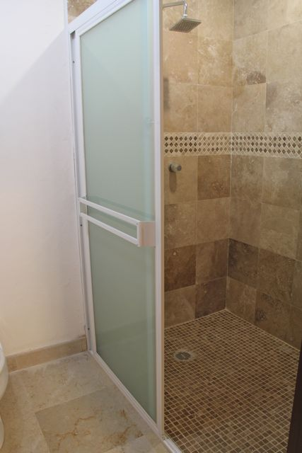 Shower in second ensuite.