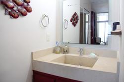 Master bedroom vanity.