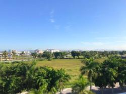 Roof-top views of Marina Mazatlan.