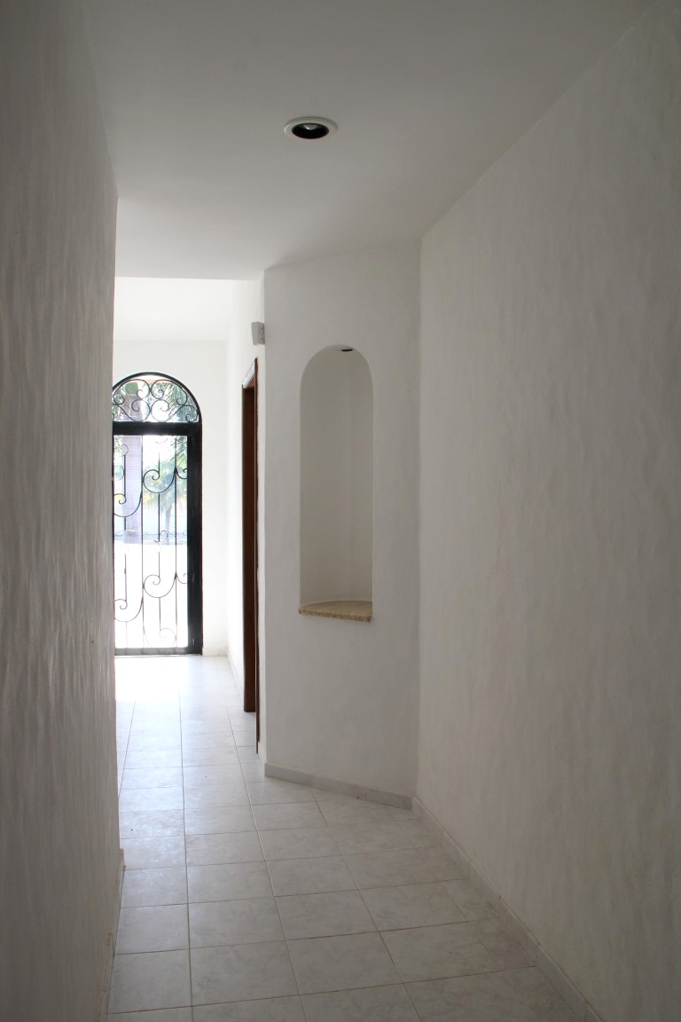 Main floor hallway.