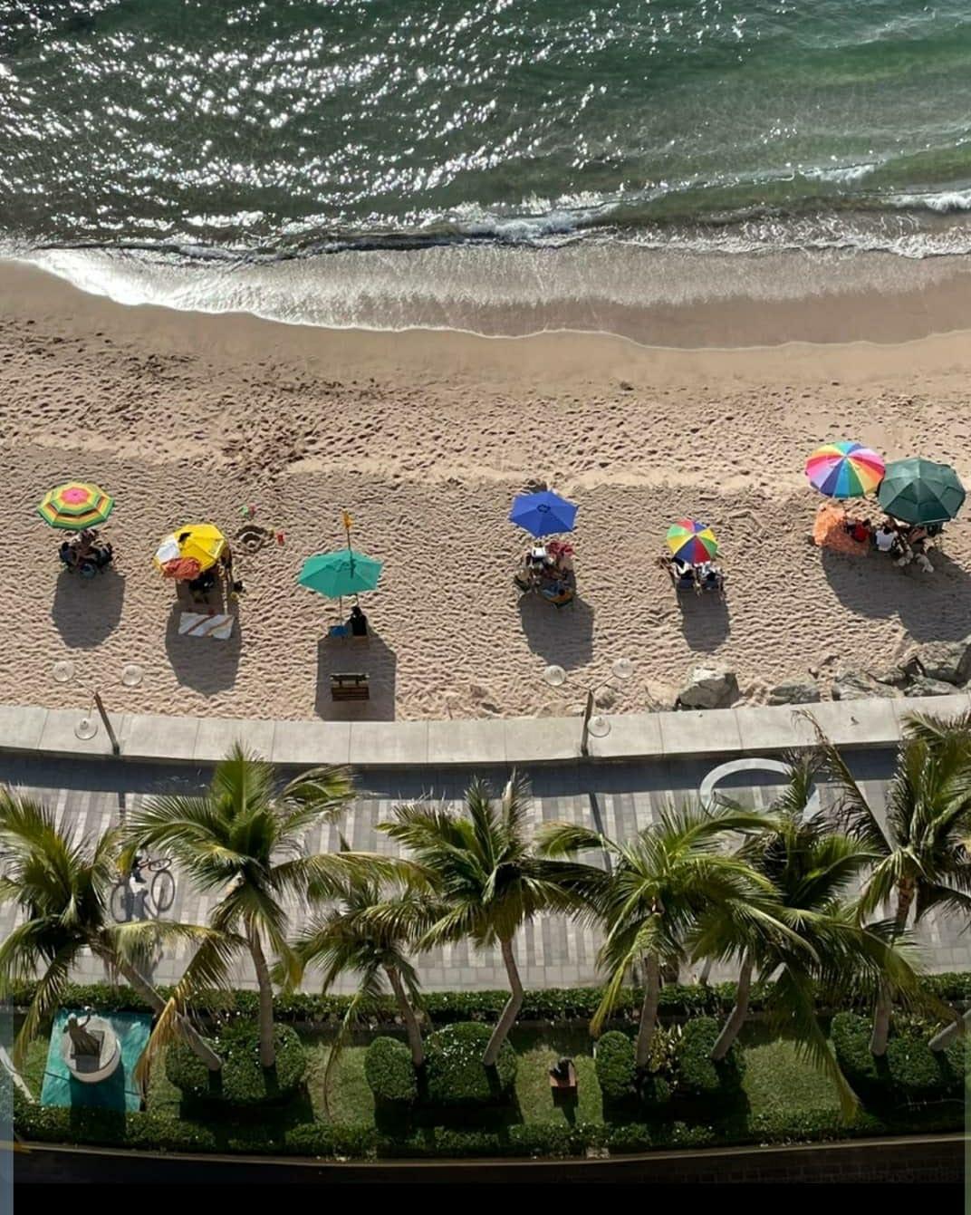 Beach time at Olas Altas.