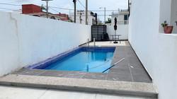 Shared pool area.