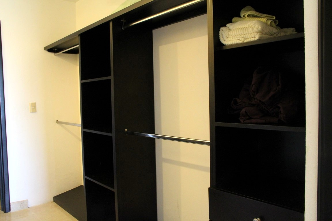 Large walk-in closet off master.