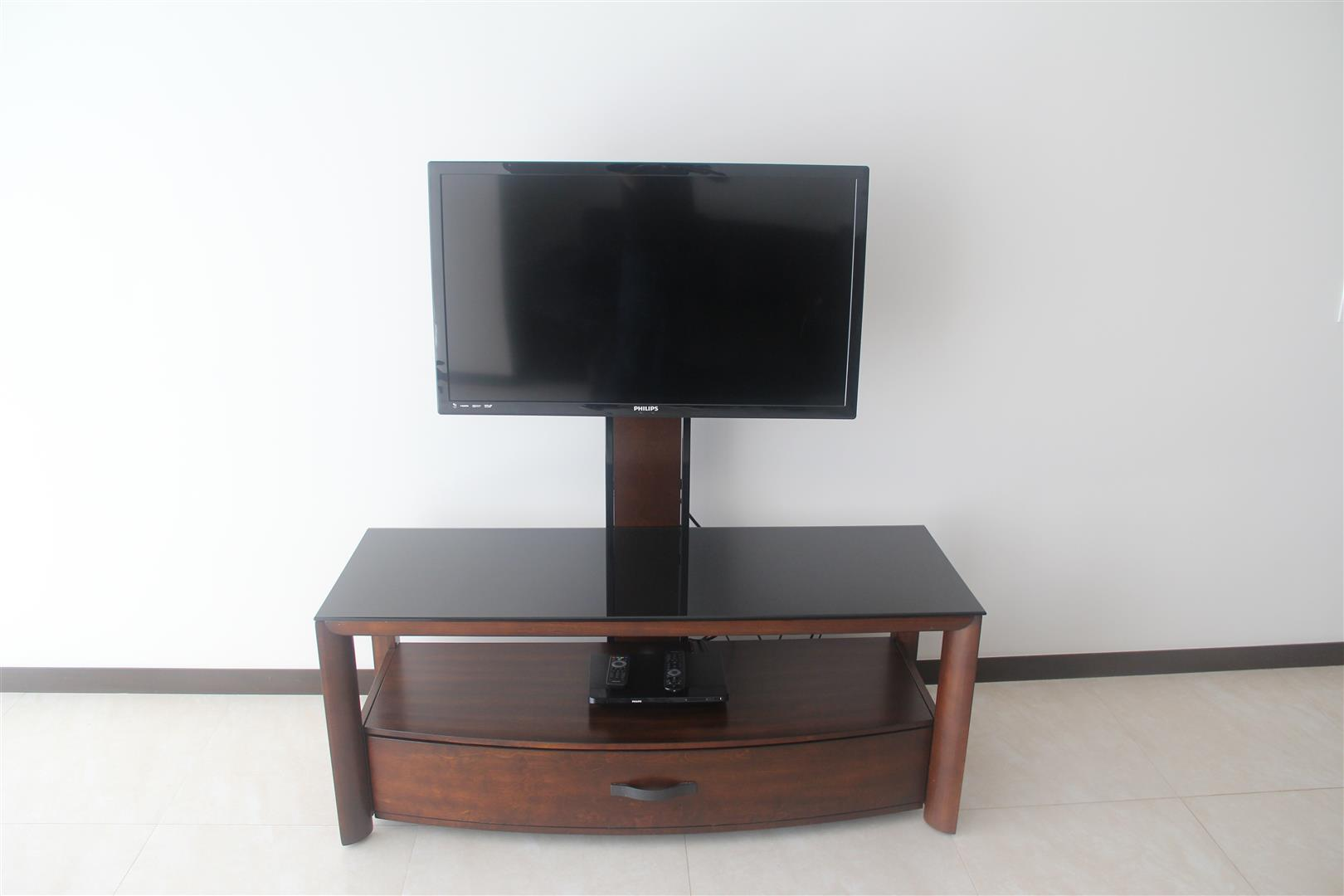 TV with cable.