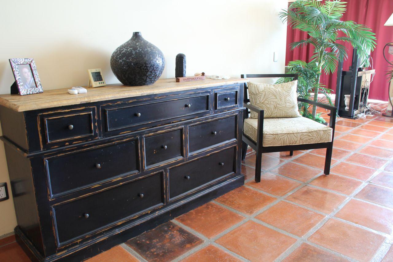 Unique furnishings.