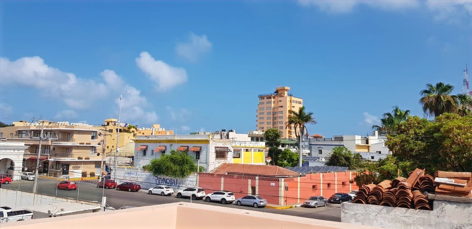 View from roof-top to Olas Altas.