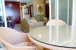 Patio open to indoor living spaces.