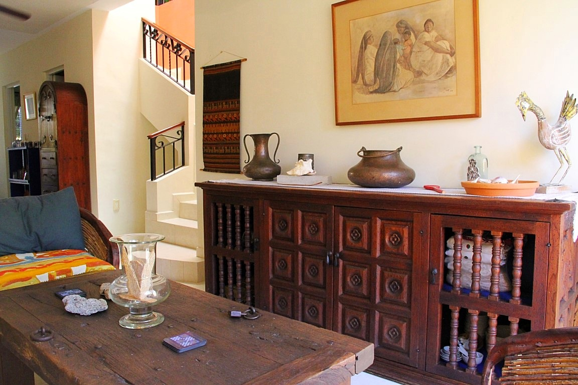 Beautiful antique furniture.