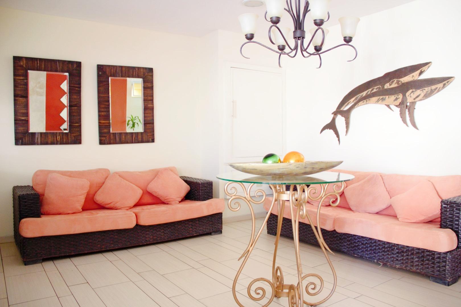 Ocean Palms lobby.