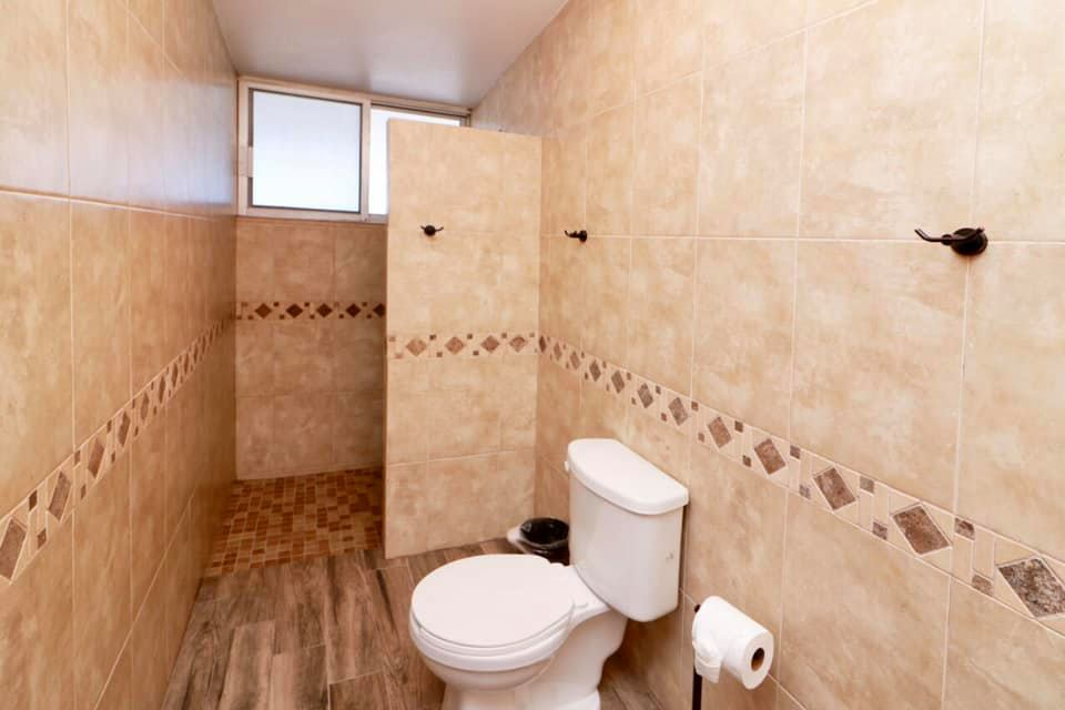 Shower area in second ensuite.