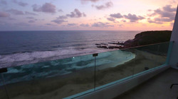 Stunning sunset views!
