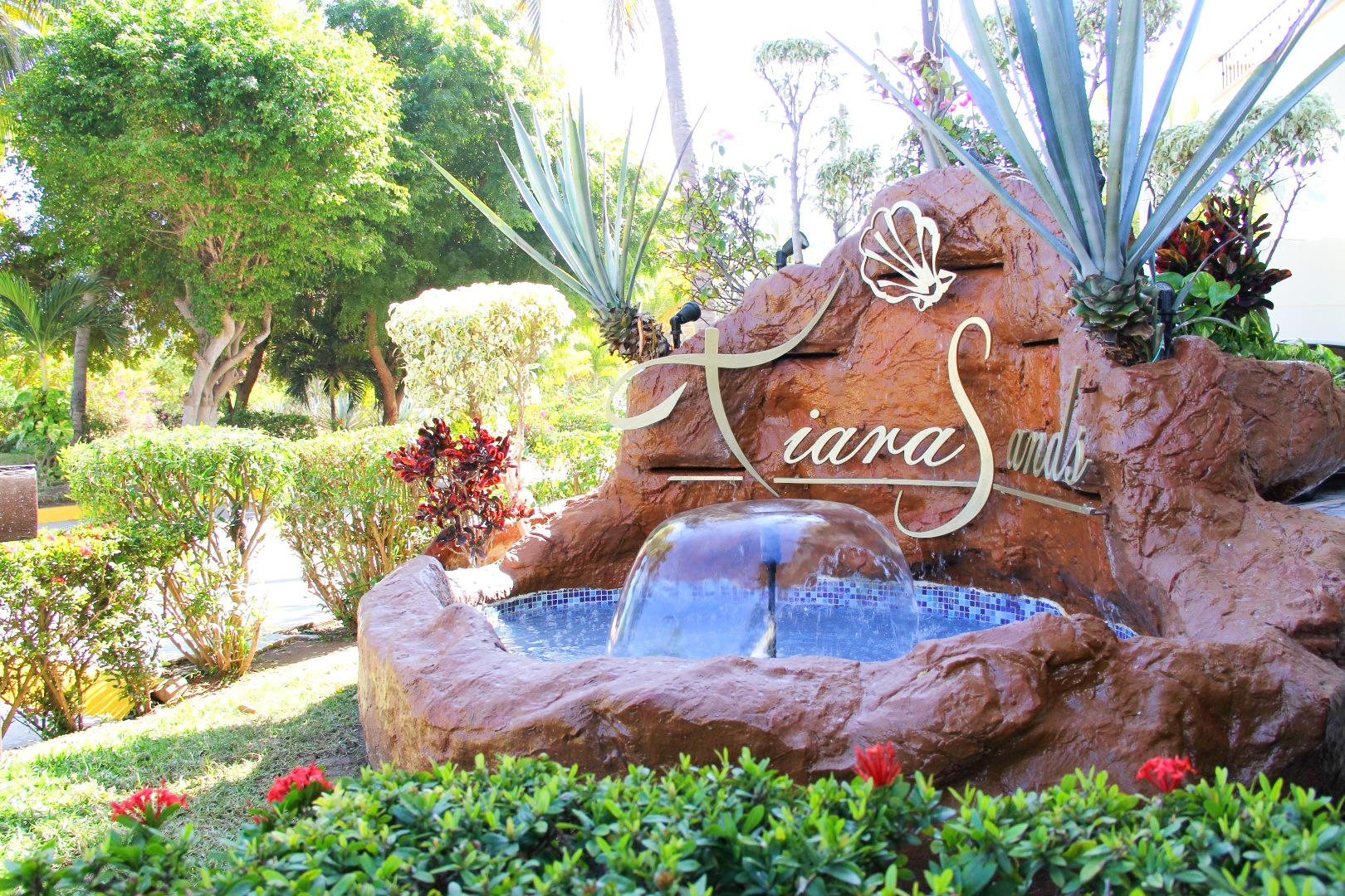 Tiara Sands entrance.