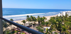 Ocean views from balcony.