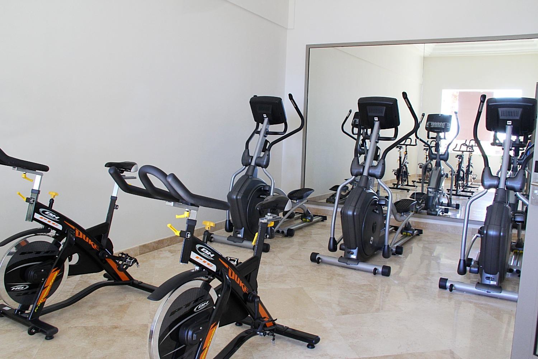 Cardio room.
