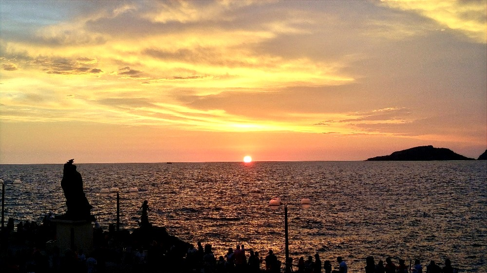 Incredible sunset views.