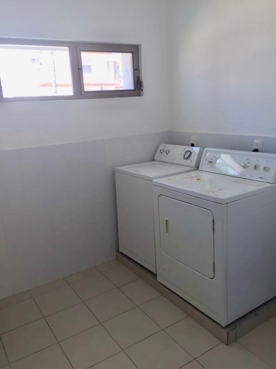 Laundry area.