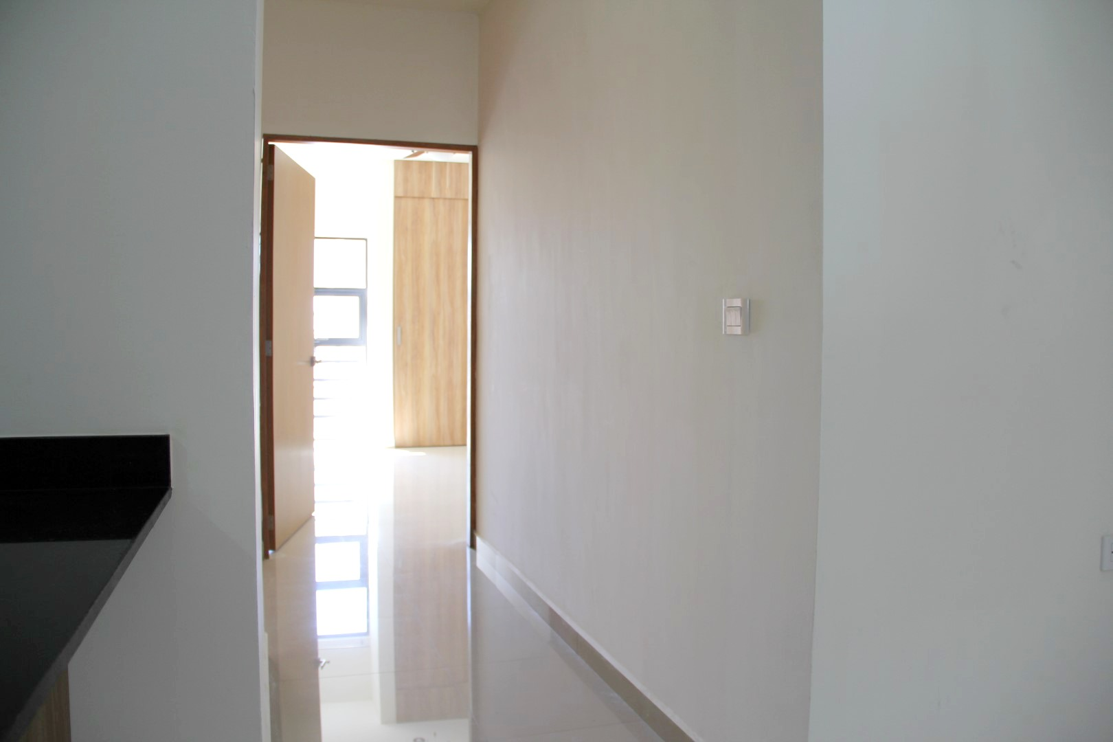 Hallway to bedrooms and bathrooms.