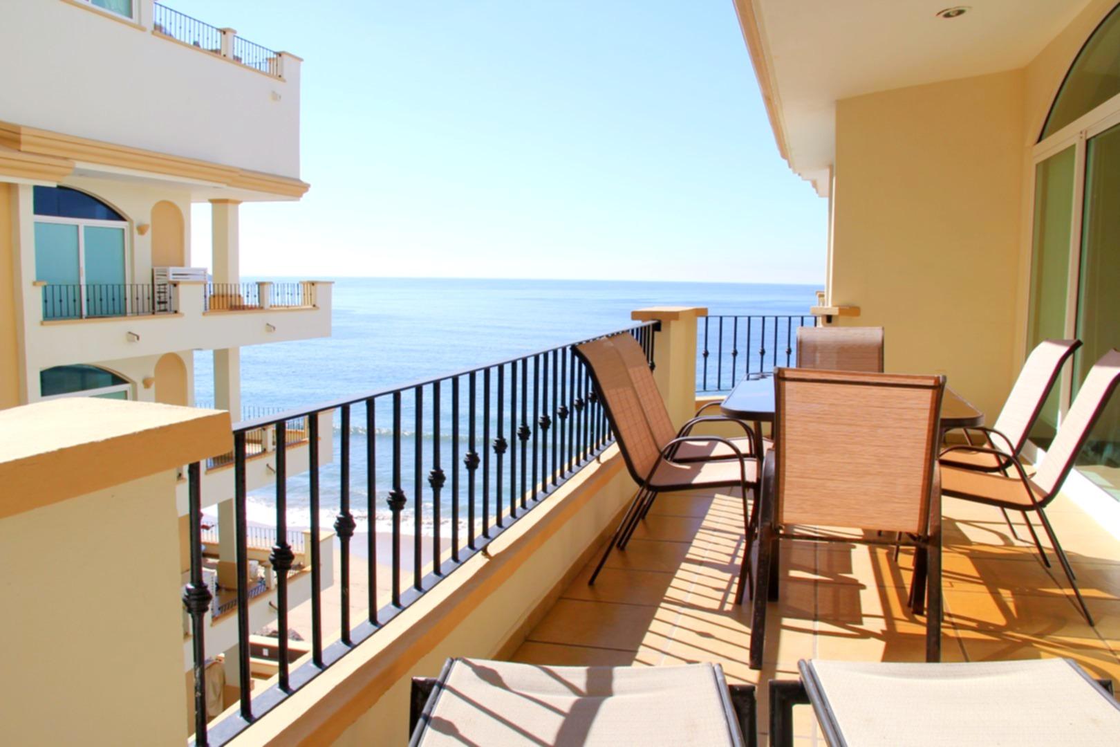 Tiara Sands 502 terrace.
