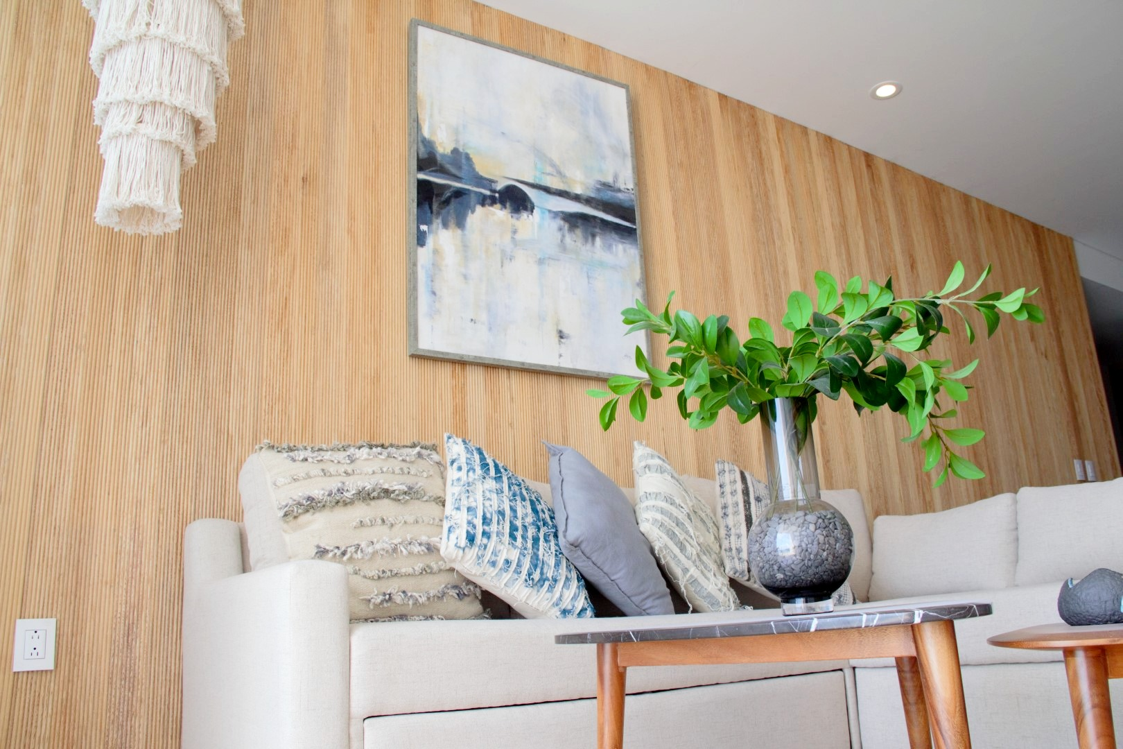 Living room decor.