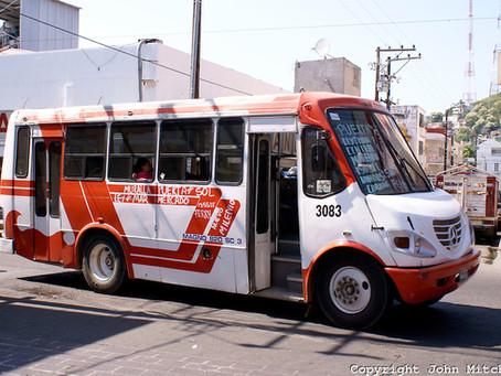 Riding the Bus in Mazatlan, Mexico