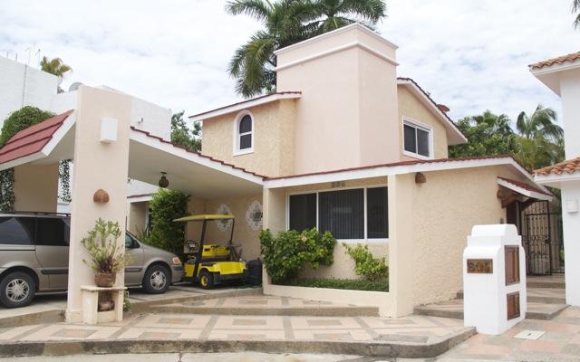 Vista desde la calle Casa de Iguanas