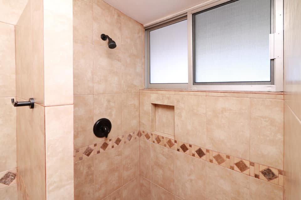 Shower in ensuite.