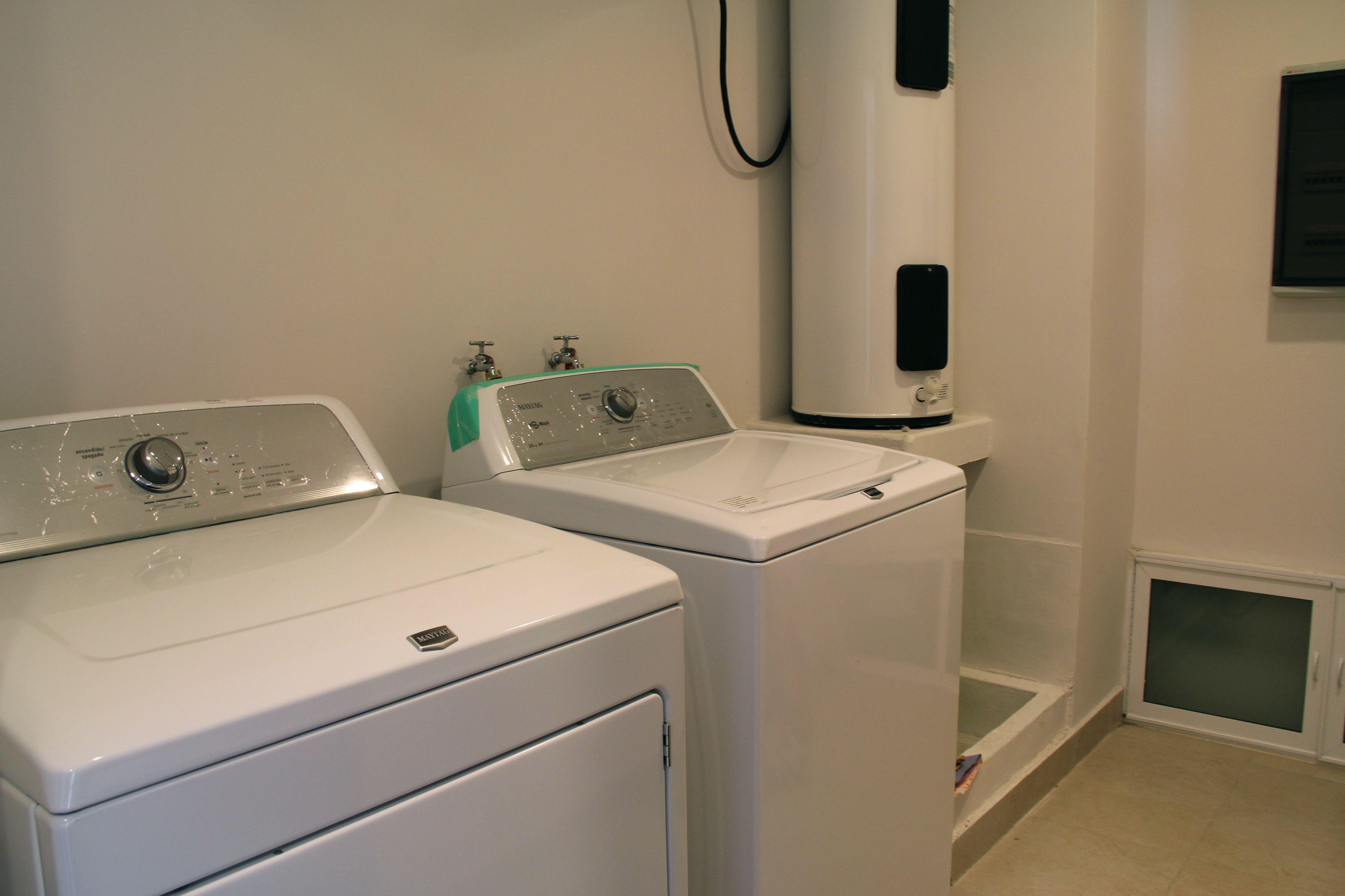 En-suite laundry.