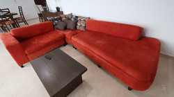 New sectional sofa.