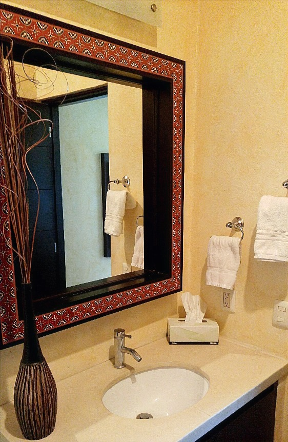 Second bathroom vanity.