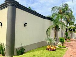 Exterior of Hacienda El Dorado.