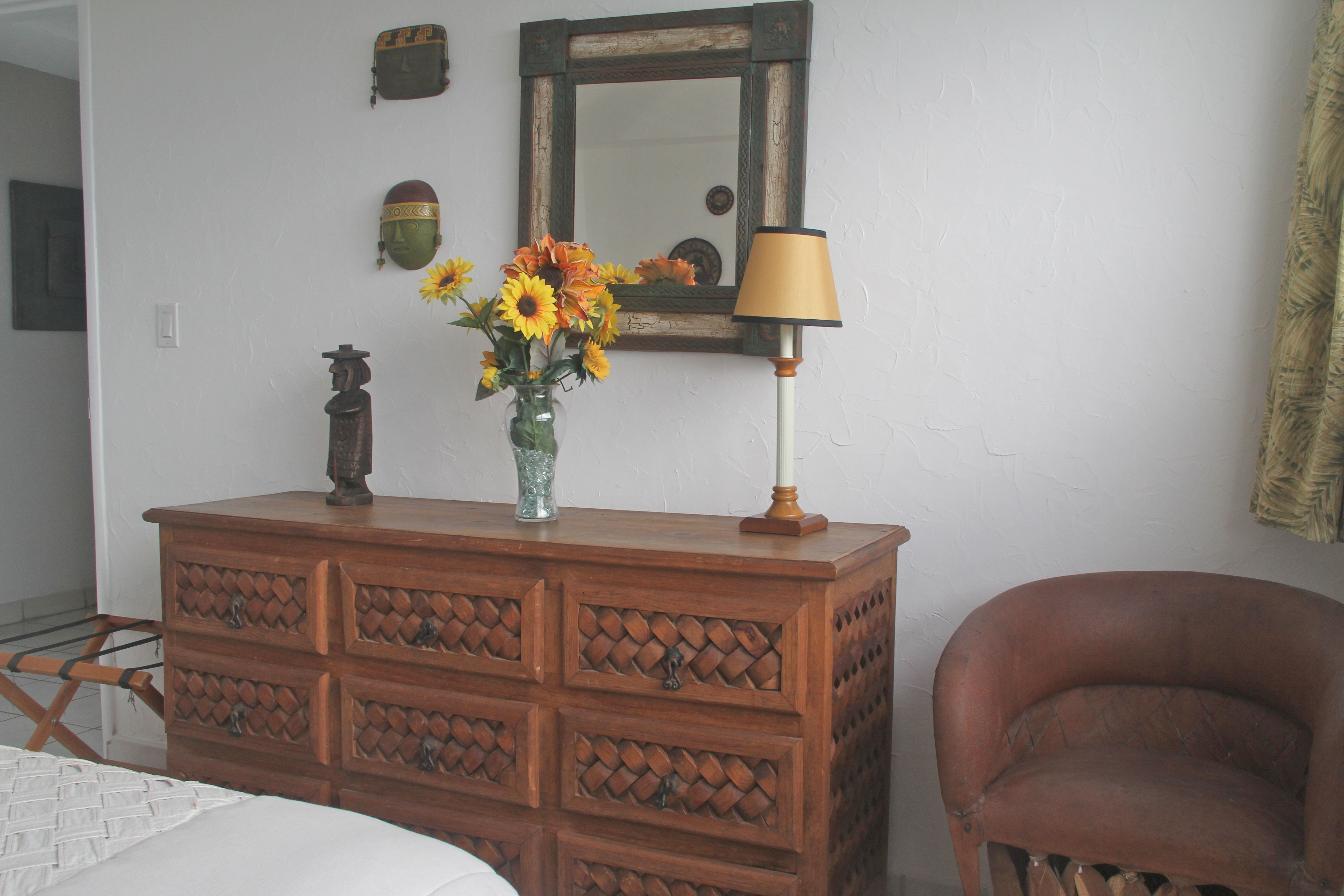 Locally made chair & dresser