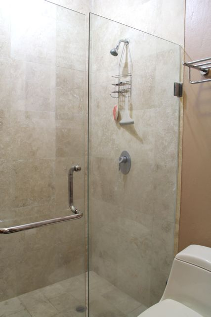 Shower in 3rd bathroom.