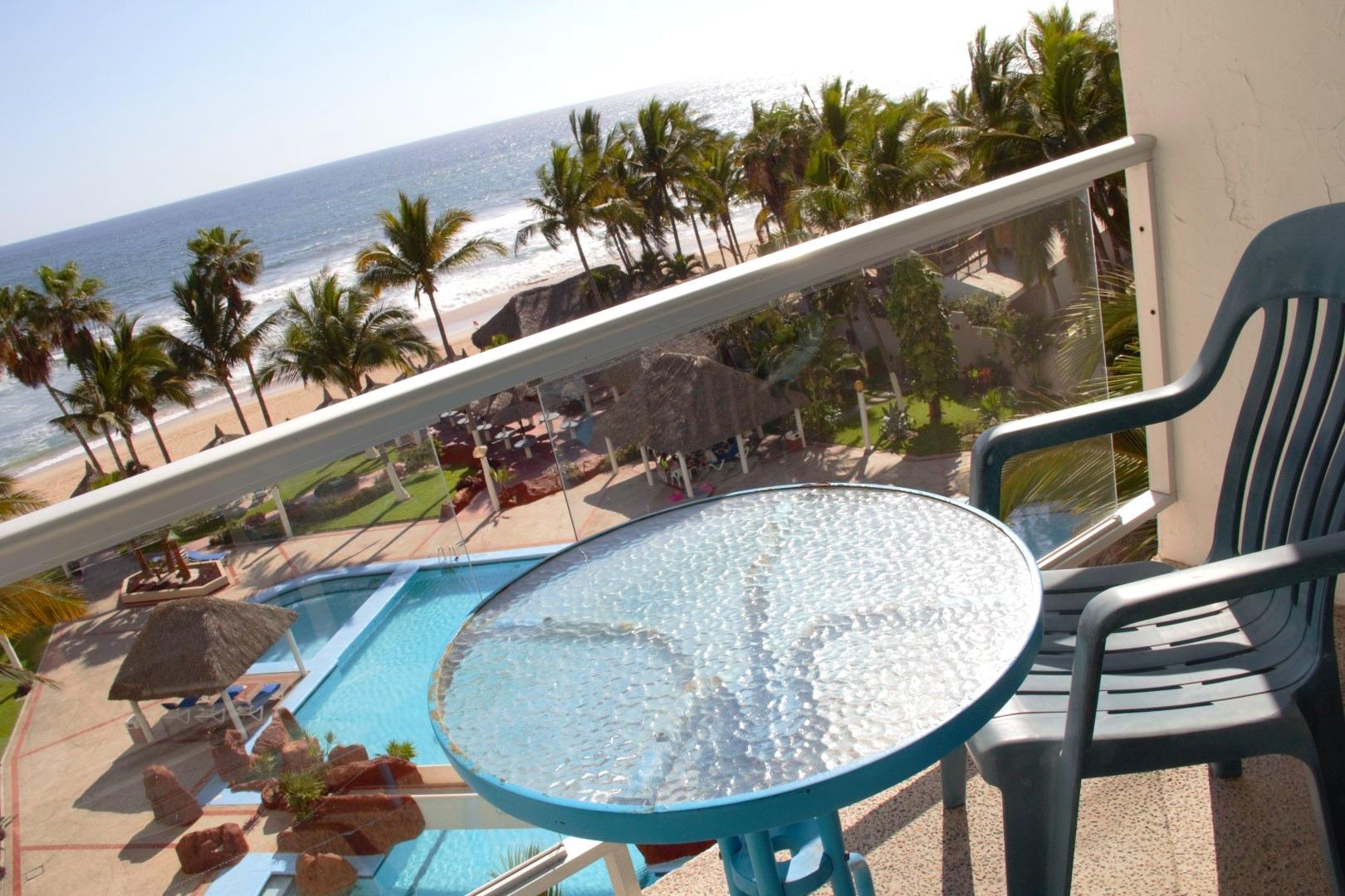 The best ocean and pool views!