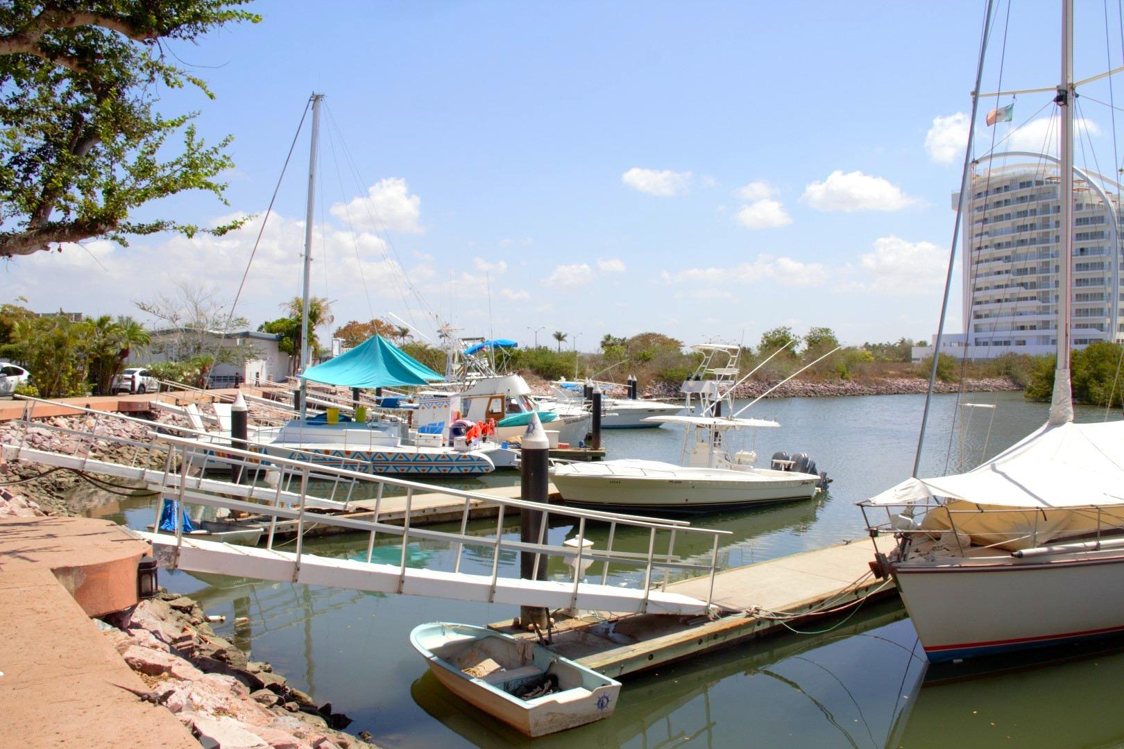 Marina access and boardwalk.
