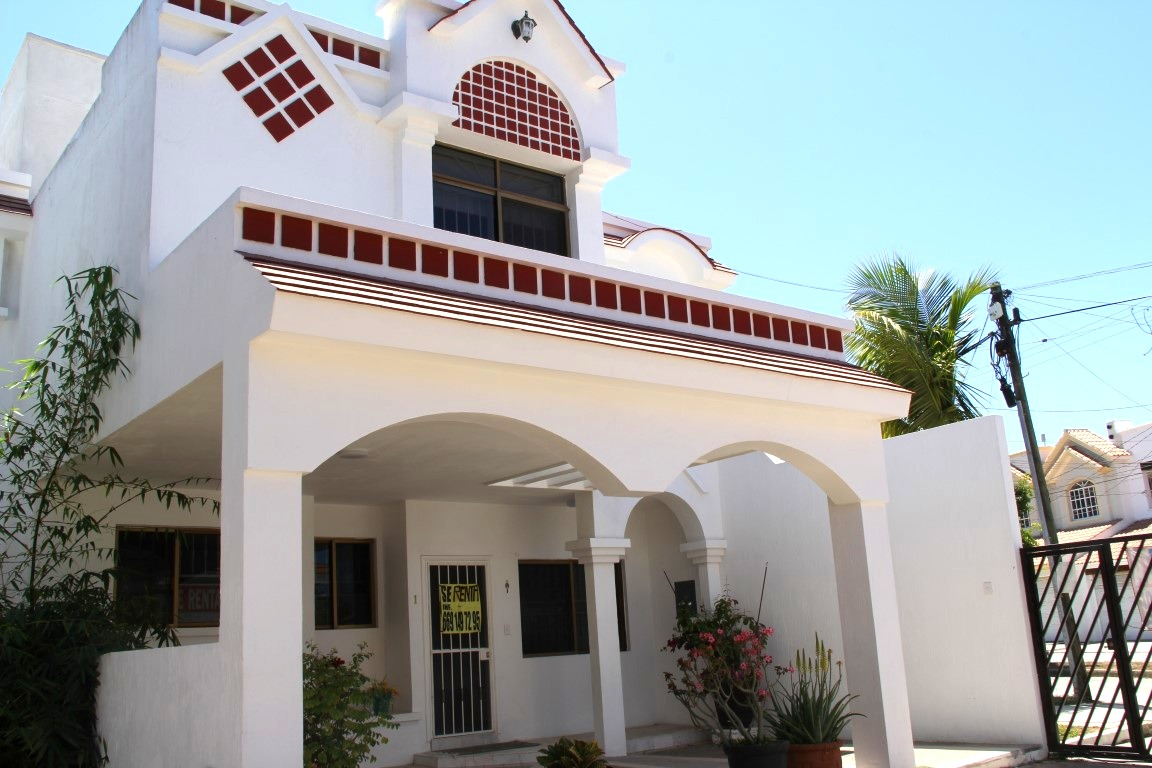 Exterior of home.