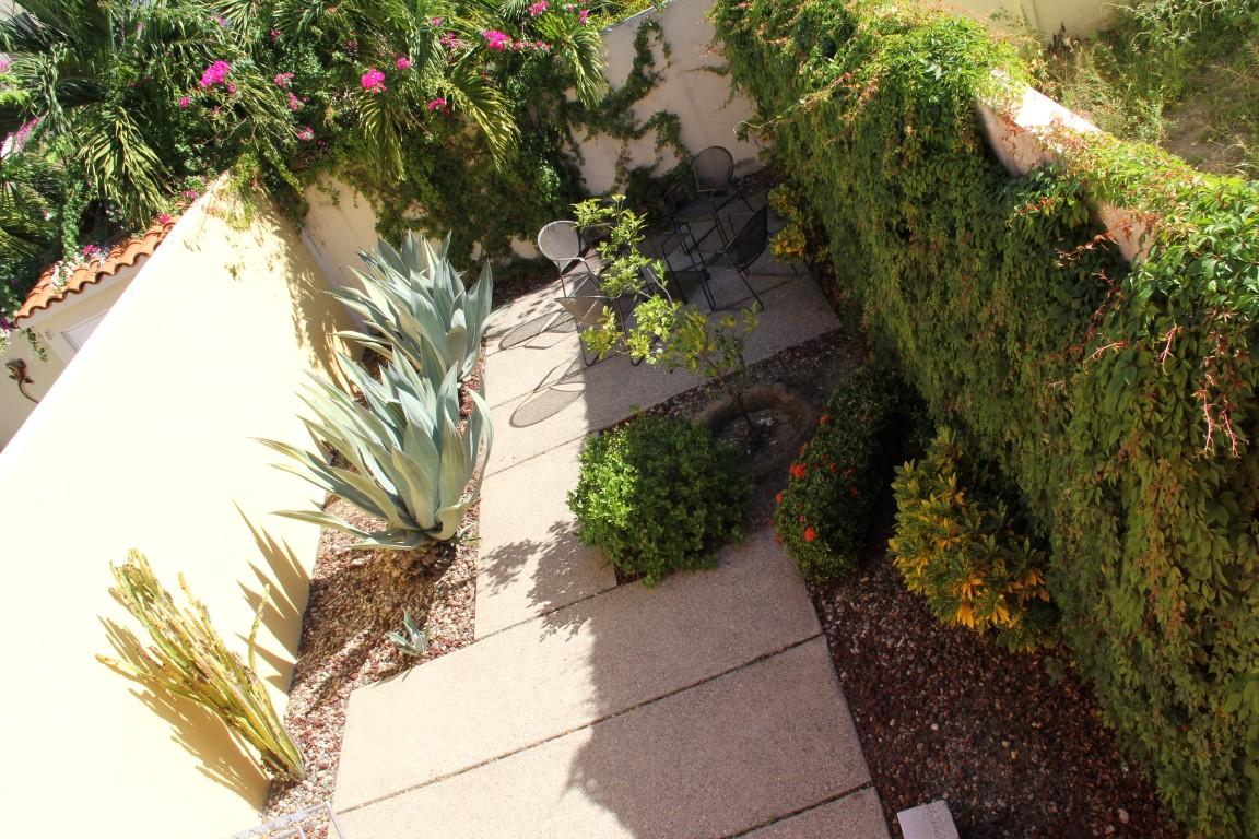 View of garden area.