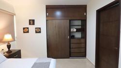 Closet in master bedroom.