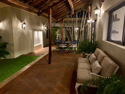 Great exterior spaces to use in day or night.