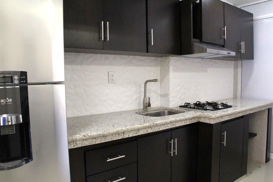 Newly remodelled kitchen.