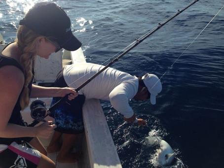 Fishing in a Super PANGA!